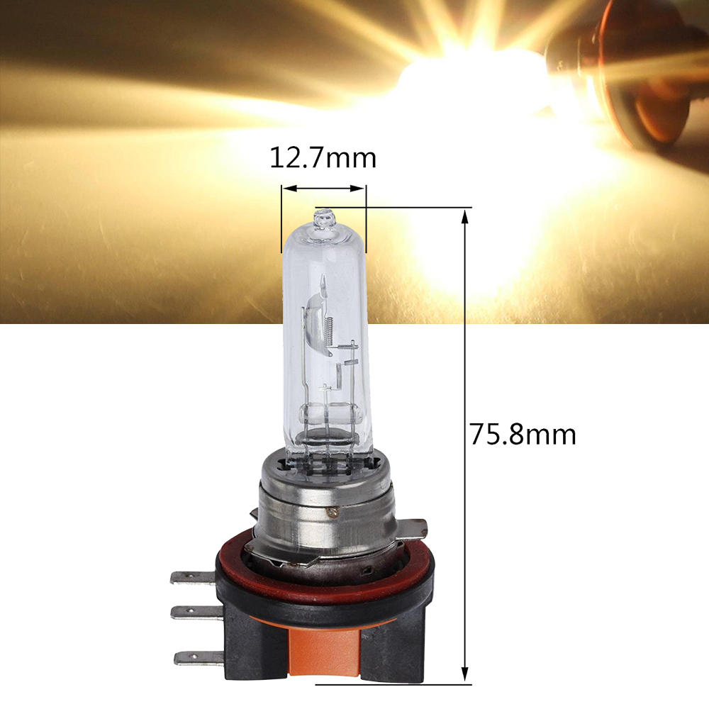 1Pcs H15 Car Headlight Halogen Light Bulbs PGJ23T1 12V 15/55W 4300K HID Yellow Car Headlights Bulb 12V Car Fog Light Bulbs