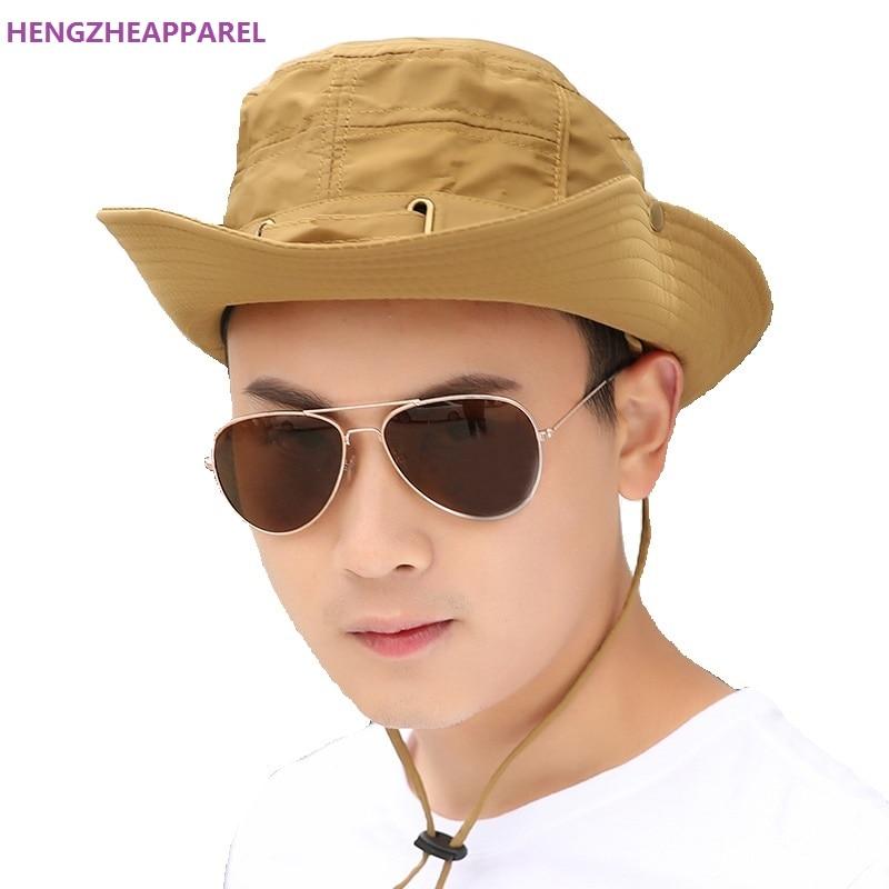 077a4618991 Men women Sun Hat Fashion Summer Beach Fisherman Hats Anti-UV Sun  Protection Bucket Hat Holiday boys girls Sun Cap