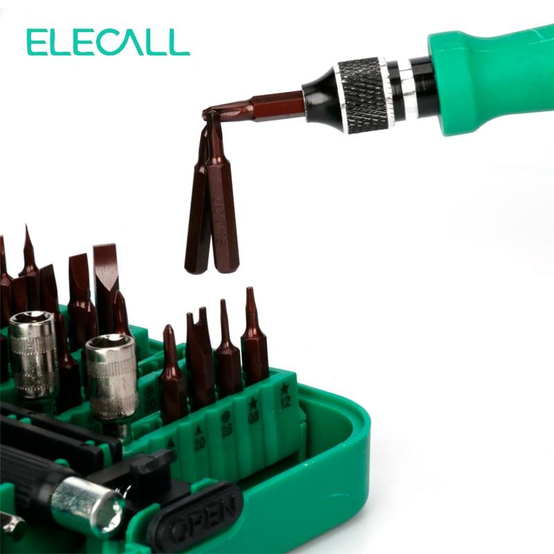 ELECALL 45in1 multifunktsionaalse kruvikeeraja komplekt, mitme - Käsitööriistad - Foto 4