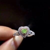 Ani 18 К из белого золота (au750) для женщин обручальное кольцо сертифицированные Si 0.81 ct романтические фантазии зеленый-желтый бриллиант сердце Ф...