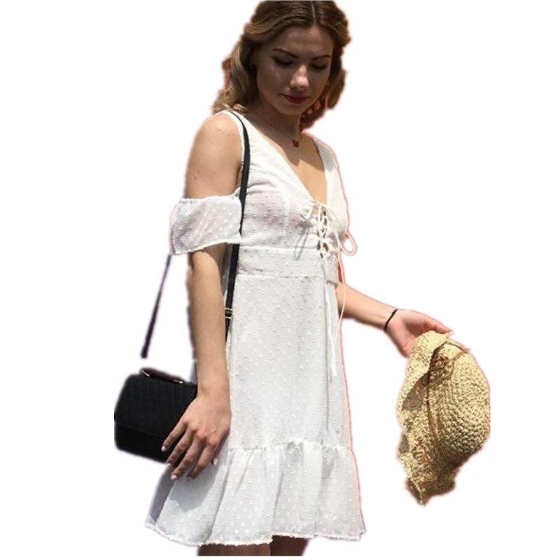 белое шифоновое платье с открытой спиной сарафан женский летний платья больших размеров платье женское нарядное летние платья и сарафаны v ...