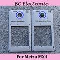 Back Housing Middle Frame Bezel For Meizu MX4 + Louder Speaker +Flashlight Cable +Glass lens Camera Cover Circle;2PCS/LOT