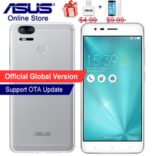 Global Version, ASUS ZenFone 3 Zoom ZE553KL, 4G LTE Smartphone, 5.5 inch, 4GB 64GB, Dual 12MP Cameras, Octa Core, 5000mAh Phone(China)