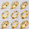Hot Unique Ring Set Punk 18k Gold Color Knuckle Rings for women Finger Ring 10PCS Ring Set Best Selling
