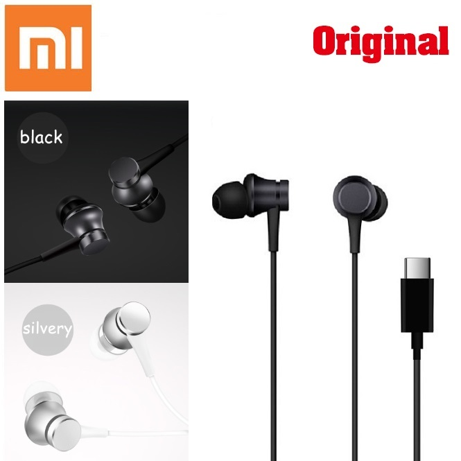 Original Xiaomi Mi Piston 3 Fresh Youth Version Earphone In-Ear Type-C Colorful Earbuds With Mic For Xiaomi Mi 6 8 MIX 2 MIX 2S