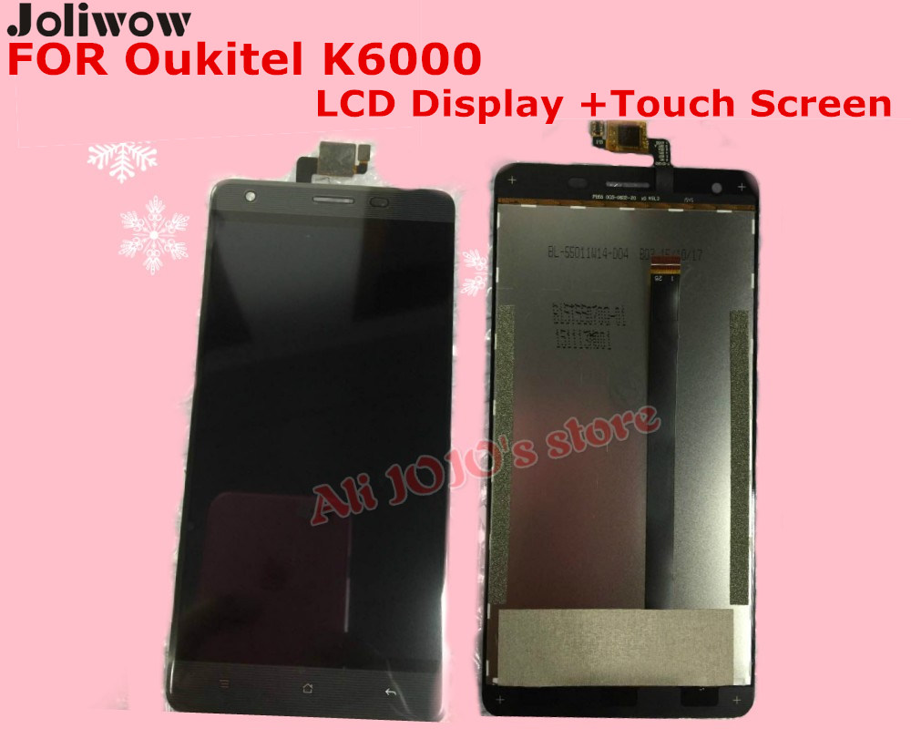 FOR Oukitel K6000 LCD Display +Touch Screen + Tools 5.5 inch Digitizer Assembly Replacement Accessories For Phone