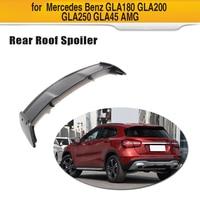 Carbon Fiber Car Rear Roof Lip Spoiler For Mercedes Benz GLA Class CLA200 CLA250 CLA45 AMG Base Sport 2013 2018