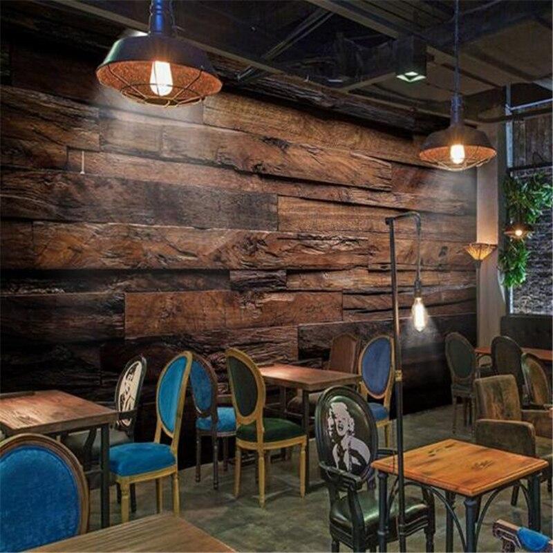 moderno rivestimento in legno-acquista a poco prezzo moderno ... - 3d Sfondo Del Pannello Di Legno Moderno Vinile Carta Da Parati Per Soggiorno