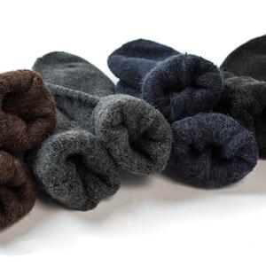 Image 3 - New Thick High Quality  Angola Rabbit Merino Wool Socks Mens Socks Classic Business Brand Socks Men Winter Warm Socks
