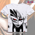 Moda Anime BLEACH camisa Cosplay dos desenhos animados de Anime camisetas Kurosaki Ichigo Ishida Uryuu homens T MD-004