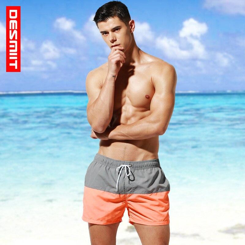 Desmiit Summer Men Swim   Shorts   Quick Dry Swimwear   Board   Surf Beach   Short   Male Bathing Running Gym Trunks Bermuda Plus Size 3xl