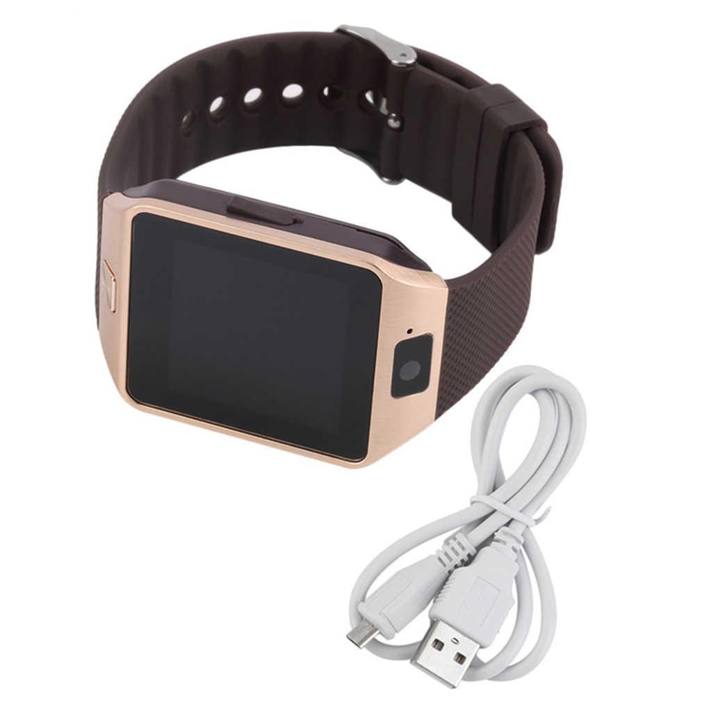 Mini Jam Tangan Pintar Ponsel Kamera untuk Ponsel Android Sobat Fashion Elegan Begitu Banyak Menghibur Fungsi Seperti Telepon