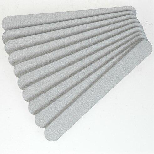 100 pcs 100 180 professional nail arquivos de buffer lustrando grit espessamento crescente magro lixa manicure