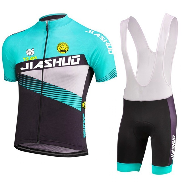 Wholesale custom Cycling jersey set Blue red Men short sleeve Clothing  Bicycle Wear Racing suits hot Mountains riding racing c9777f712