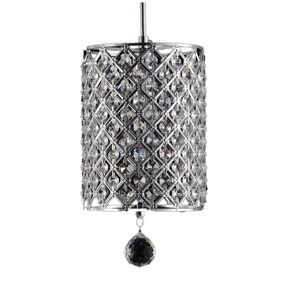 CSS 2 PACKS Modern Contemporary Chandelier Lighting Crystal Ball Fixture Pendant Ceiling Lamp, 1 Light E14 new 20cm led crystal ceiling 1 light fixture pin lamp lighting prizm chandelier