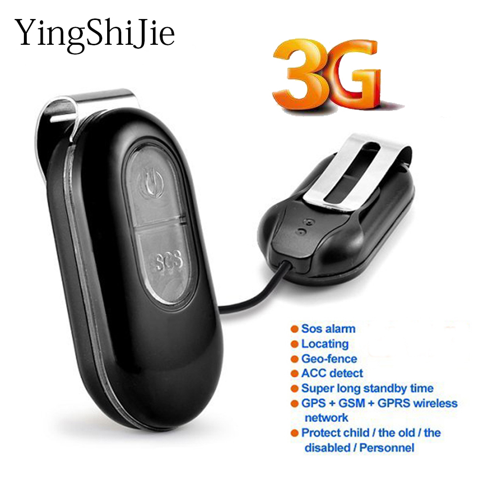 Yingshijie Gps-Tracker GPRS Personal Positioning Elderly Real-Time Kids WIFI GSM 3G