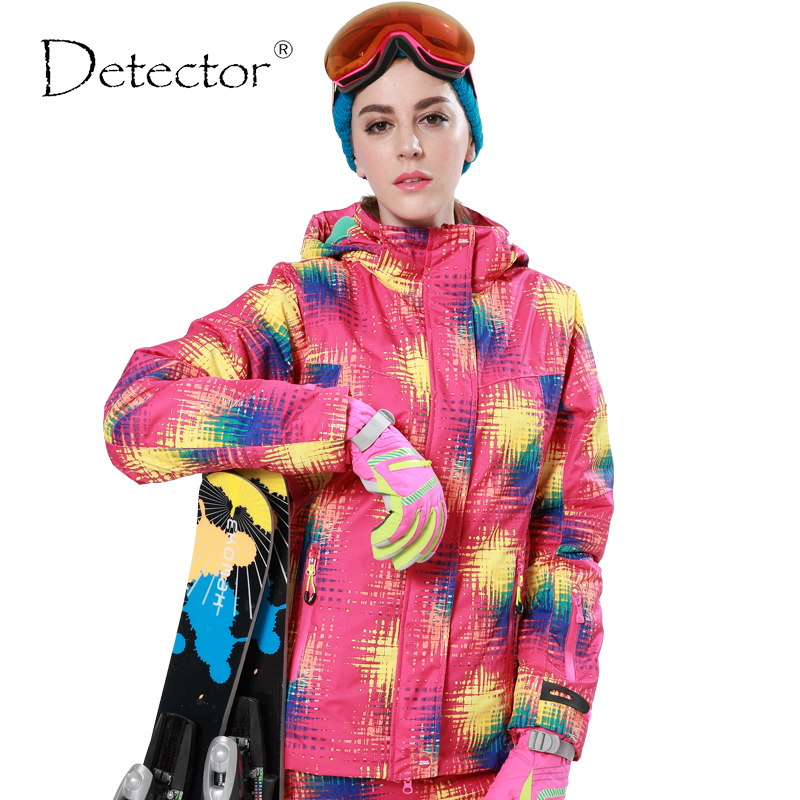 Detector snow jacket waterproof windproof thermal coat hiking camping cycling jacket winter ski jacket Women detector men ski jacket hight waterproof mountain hiking camping jacket fleece hight windproof ski jacket