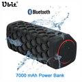 Ubit 10 Вт Спорт На Открытом Воздухе Водонепроницаемый Портативный Bluetooth Беспроводные Колонки Велосипед Звуковой Ящик С 7000mA Power Bank Громкоговорители