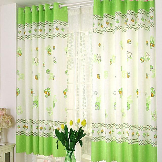 mushroom calico finished product cloth window screens window drapes