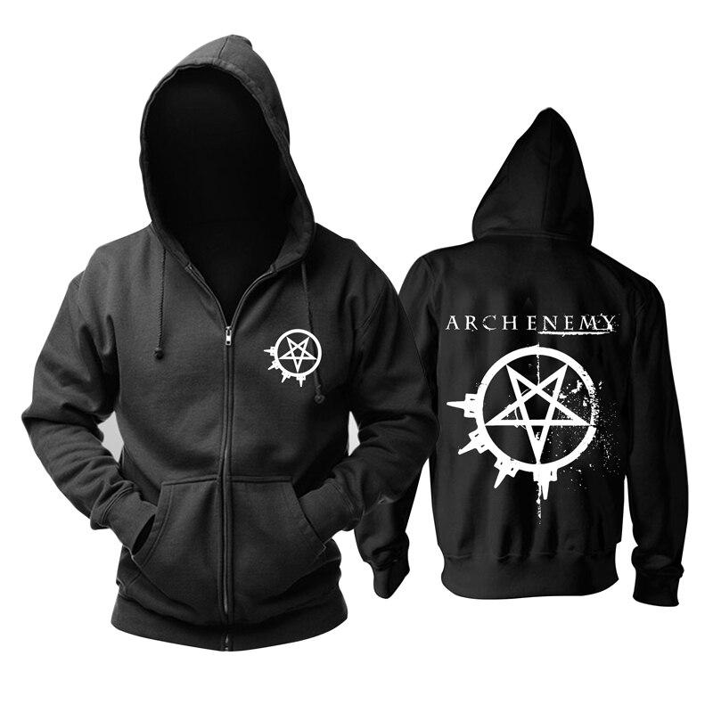 29 ชนิดสวีเดน Arch Rock Zipper hoodies ฤดูหนาวแจ็คเก็ต punk death sudadera heavy metal black sweatshirt Outerwear ขนแกะ-ใน เสื้อฮู้ดและเสื้อกันหนาว จาก เสื้อผ้าผู้ชาย บน AliExpress - 11.11_สิบเอ็ด สิบเอ็ดวันคนโสด 1