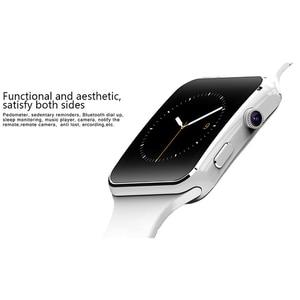 Image 4 - 2019 Смарт часы с поддержкой SIM TF карты h камера умные часы Bluetooth циферблат/с камерой сенсорный экран для iPhone Xiaomi Android IOS