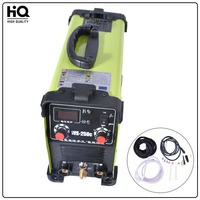 New portable WS 250C inverter welding Argon tig welder Iron shell 7000W