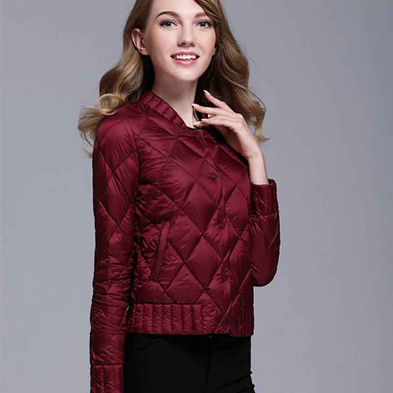 Women Winter Jacket 2017 Hot Solid Coats Autumn Parka Women's Jackets Short Warm Thin Coat Plus Size 3XL Female Outwear LJ34 hot autumn womens slim wool warm coat parka navy blue size s xl light tan red navy