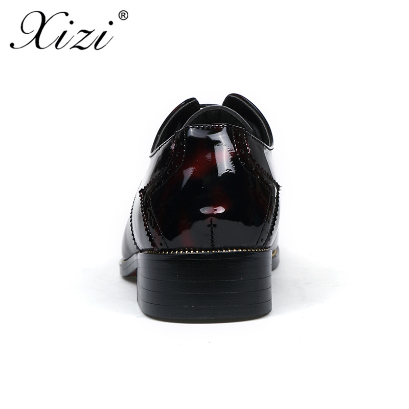 Cuir Appartements Mariage En Hommes Luxe Chaussures Mâle Noir Microfibre De Marque Mode Superstar vin Occasionnels D'affaires Robe Rouge Xizi xt06zwqn86