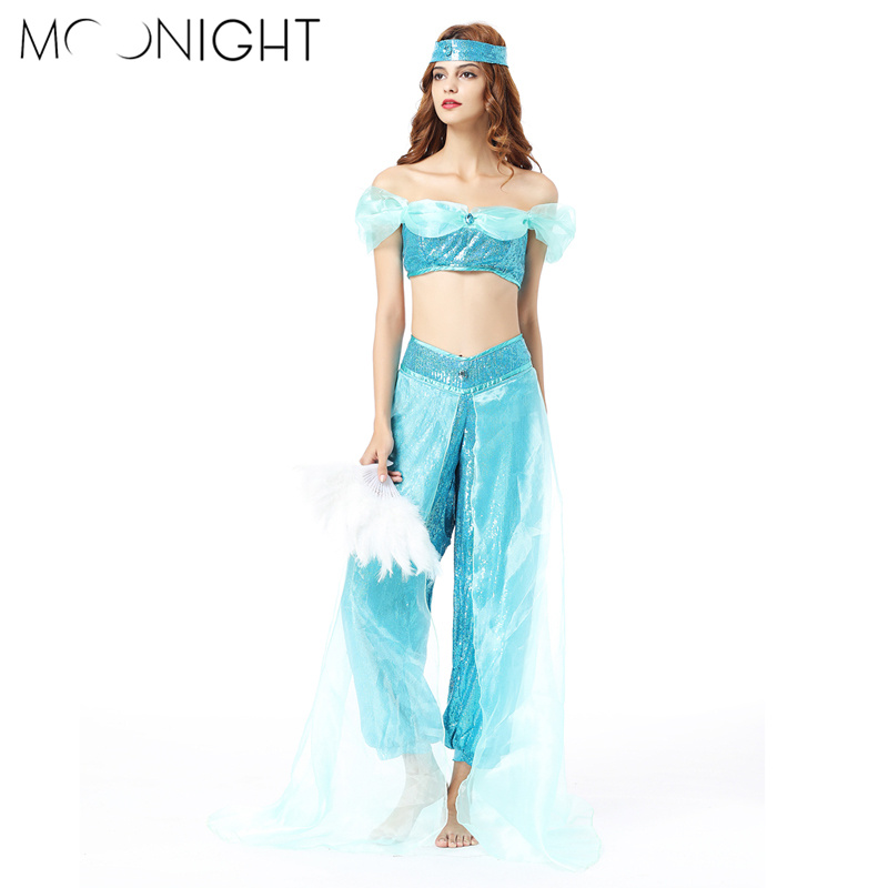 MOONIGHT New 3pcs Belly Dance Costume Belly dance Dress Womens Dance Costume Sets