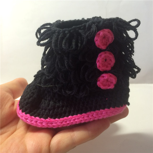 Freies Verschiffen Häkeln Stiefel Neugeborenen Schnee Stiefel