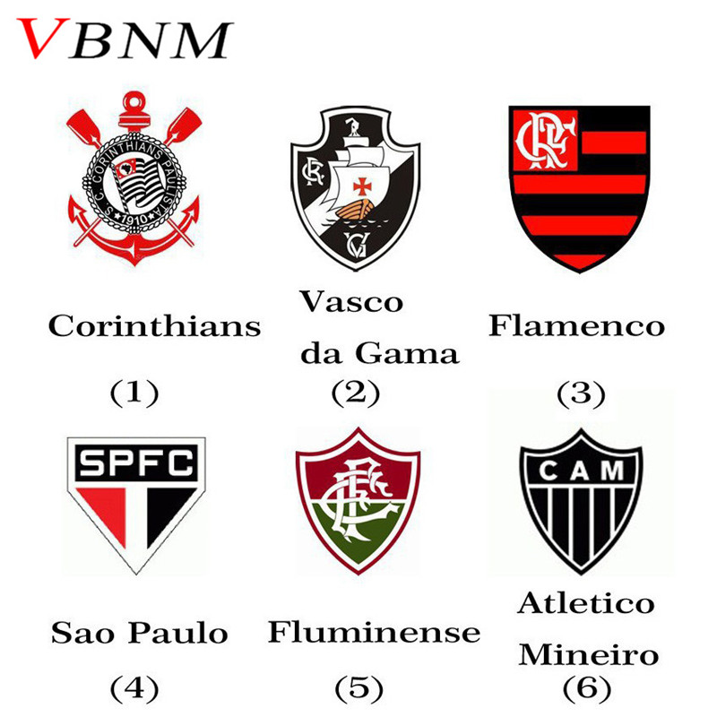 Aliexpress.com : Buy VBNM Brazil Football Club Badge Sport