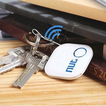 Original Nut2 Bluetooth Llavero buscador inteligente inalámbrico rastreador Nut2 inteligente iTag inalámbrico Llavero Anti Perdida de equipaje rastreador
