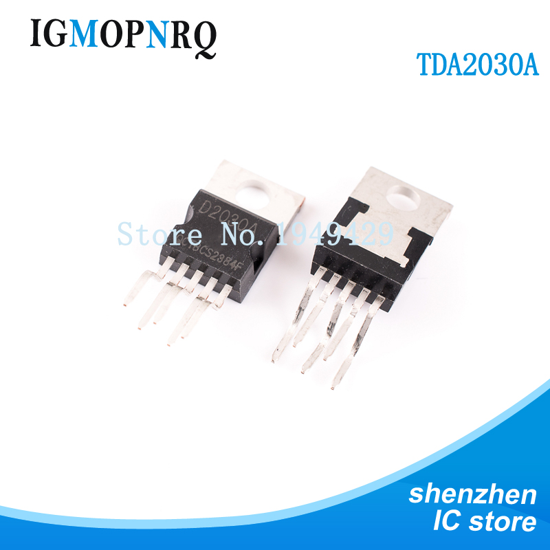 10PCS/LOT <font><b>TDA2030</b></font> TDA2030A Audio <font><b>Amplifier</b></font> Short-circuit And Thermal Protection IC TO-220 image