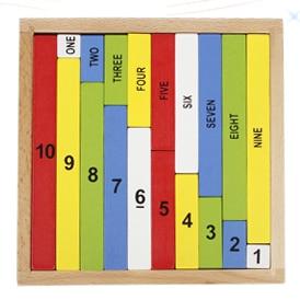 아기 장난감 몬테소리 수학 유아 교육 유치원 훈련 - 학습 및 교육 - 사진 1