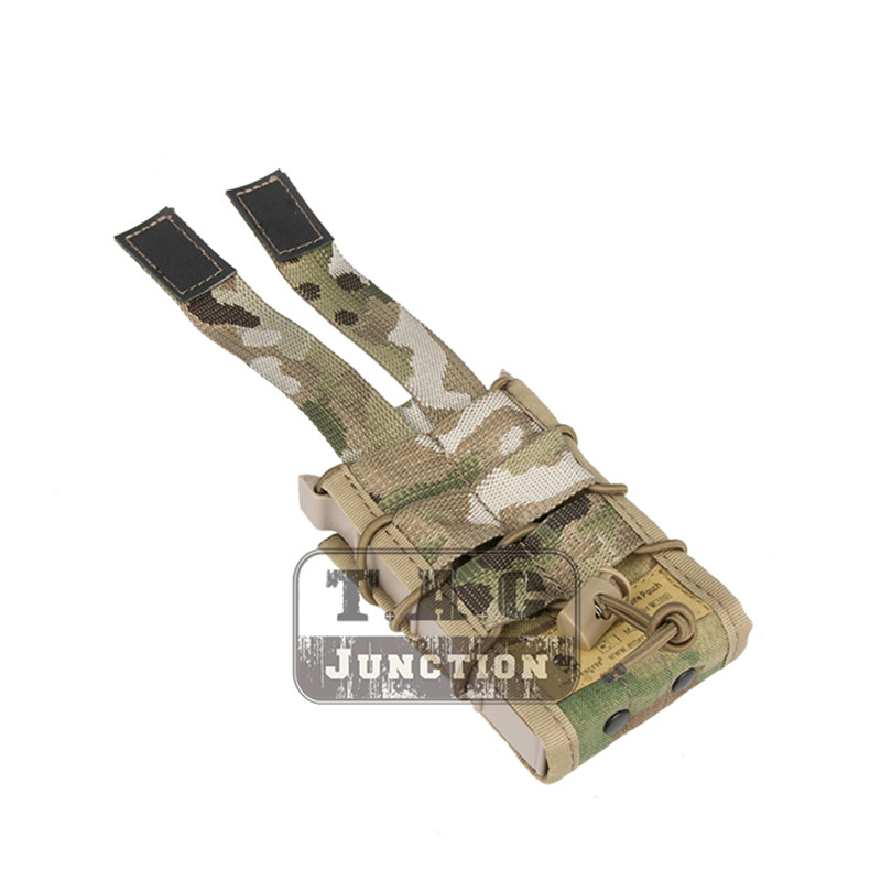 Image 5 - Emerson Double Layer Modular Magazine Pouch For 5.56 .223 & 9mm Emersongear MOLLE Mag Pouch Mag Carrier Camouflage Military-in Pouches from Sports & Entertainment