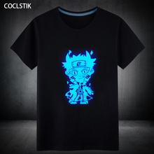 Naruto Cotton Summer Fluorescent T-Shirt