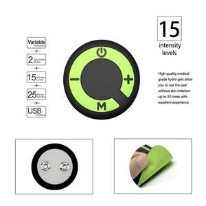 Image 4 - VONMIE Electro Estimulador Muscular S5C06 Abdomen Vibrating Slimming Belt Cellulite Tens USB Rechargable Machine EMS Trainer