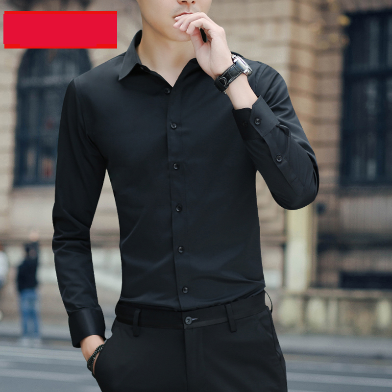Brand New Cotton Breathable Business Casual shirts Fashion Short Sleeve Male Tops Tee Fashion Stand Down Collar shirt ZT024 19