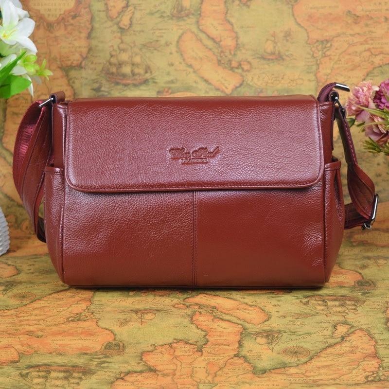 2017 New Fashion Genuine Leather Women Bags Handbag/Women Messenger Shoulder Bags/Crossbody Bag Large capacity bag #L157