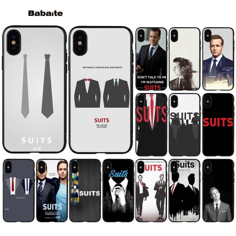 Babaite Ternos TV Show Popular Projeto Original Tampa Do Telefone para Apple iPhone 5 5S SE 6 6S 7 8 mais X XS MAX XR Tampa