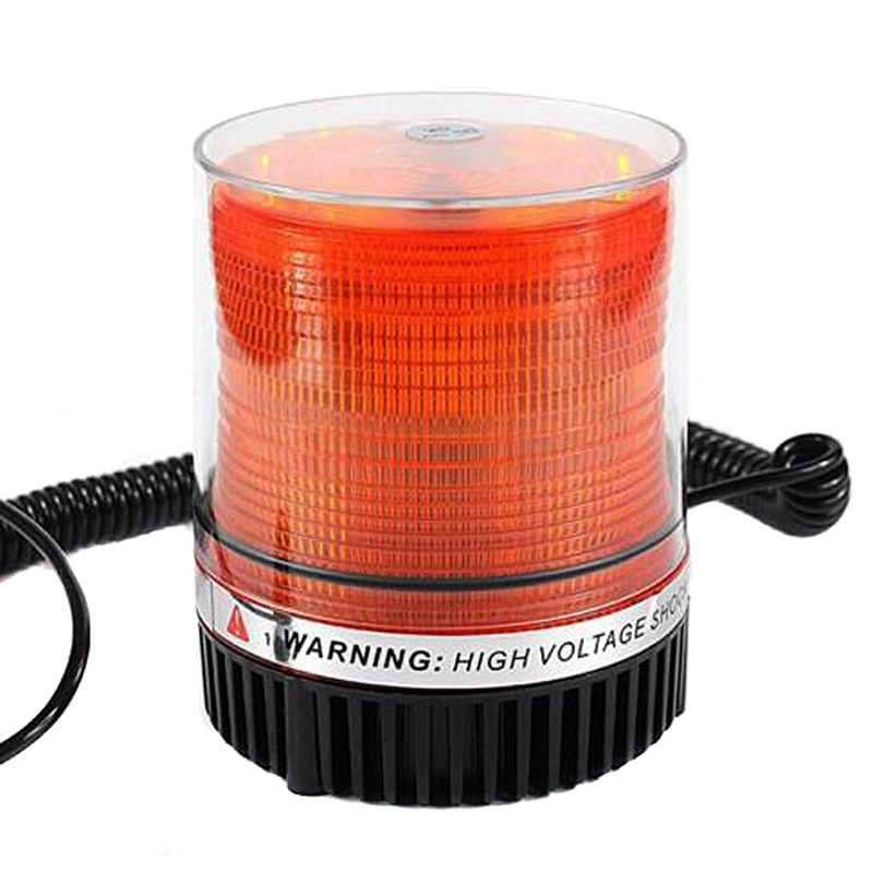 Amber Car Truck BUS Magnetic Warning Flash Beacon Strobe Emergency light 24V Warning Light tirol t16887b new magnetic multifunction dc12v 24v led strobe beacon amber single flash warning light
