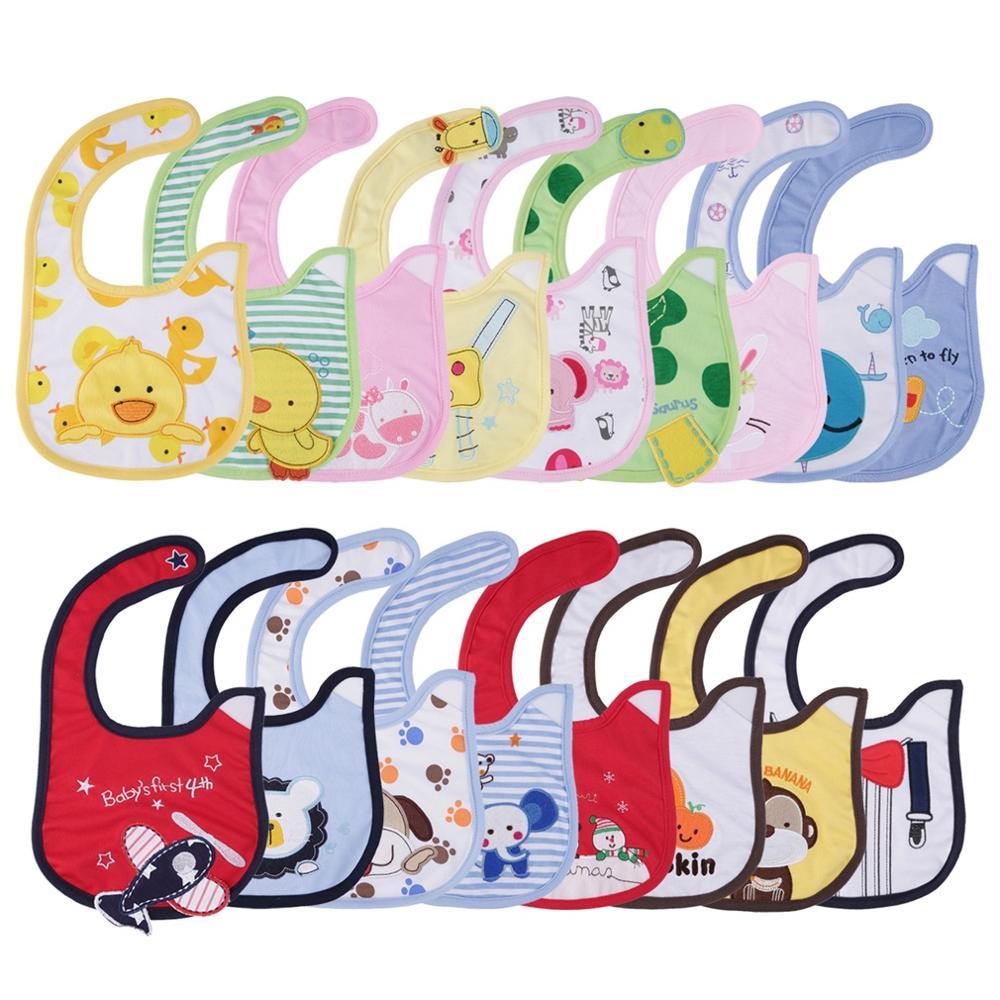 15 Farben Erhältlich 1 StÜcke Neugeborenen Lätzchen Wasserdichten Schell Bandana Lätzchen Für Kinder Mädchen Jungen Bib Baby Kleidung Gutes Renommee Auf Der Ganzen Welt