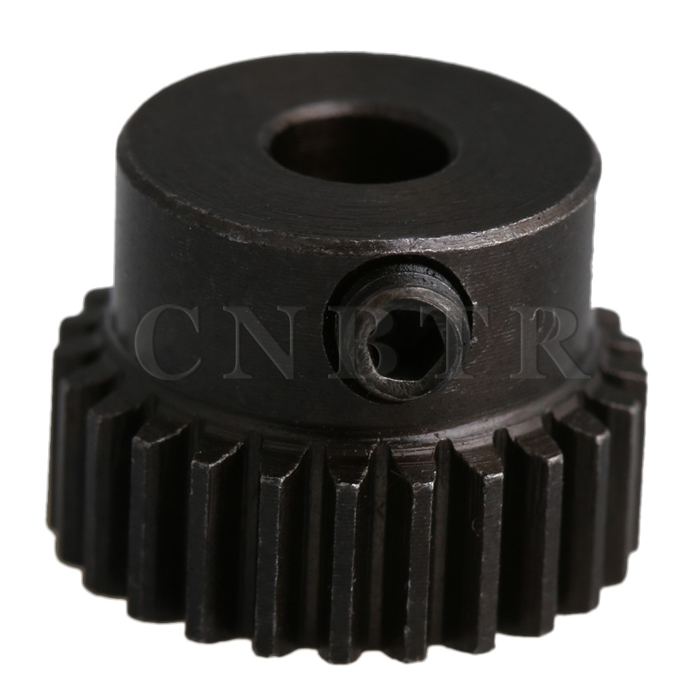 CNBTR 13.5x10mm 45# Steel 0.5 Modulus 25 Teeth Metal Motor Pinion Gear Bore for RC Model Microgenerator Small Machinery цена