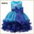 De alta calidad de Bebé para Niños de Baile Vestido Diseños Del Vestido 3-8 Año Vestidos Sin Mangas de Cuatro Capas de La Muchacha de cumpleaños Desgaste Del Partido Ropa de La Muchacha chaleco