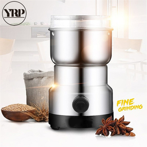 Image 2 - Electric Coffee grinder espresso tools Mini Stainless Pepper/Herbs/Spices/Nuts/Grains/Coffee Bean Powerful Mill Grinder Machine