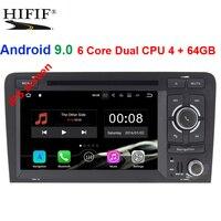 Ips 2 Din Авто Радио Android 9,0 для Audi A3 8 P/A3 8P1 3 дверей/S3 8 P/RS3 Sportback Автомобильный мультимедийный видеоплеер gps DVR