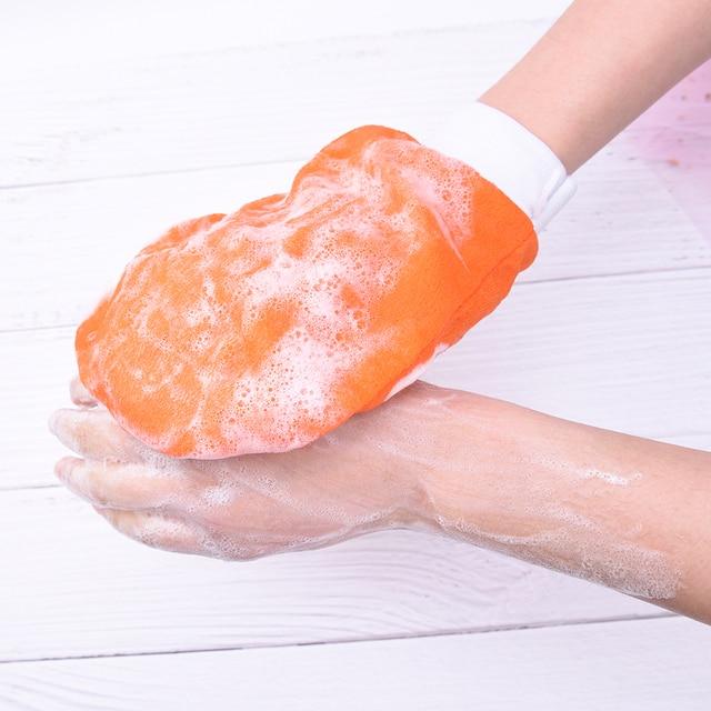 1X Hammam Shower Thicken Bath Magic Peeling Glove Exfoliating Tan Removal Kessa Bathing Cleaning Products 1
