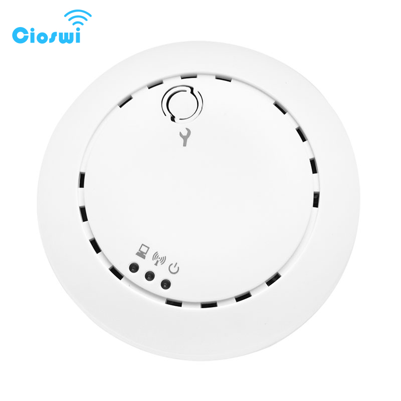 Cioswi 100MW Wireless Access Point For Business Cloud Management PoE DC 300Mbps IEEE 802.11n Indoor Outdoor WiFi Access Point AP