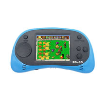 RS-8D Video Game Console 8 Bit 2.5 inch Portable Video Handheld Game Player Built-in 260 Different Color retro game N20C 2018 portable video handheld game console retro 64 bit 3 inch 3000 video game retro handheld console to tv rs 97 retro gane 07