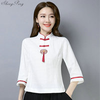2019 New Traditional chinese clothing Tang suit cheongsam top ladies elegant fashion Oriental womens tops G149
